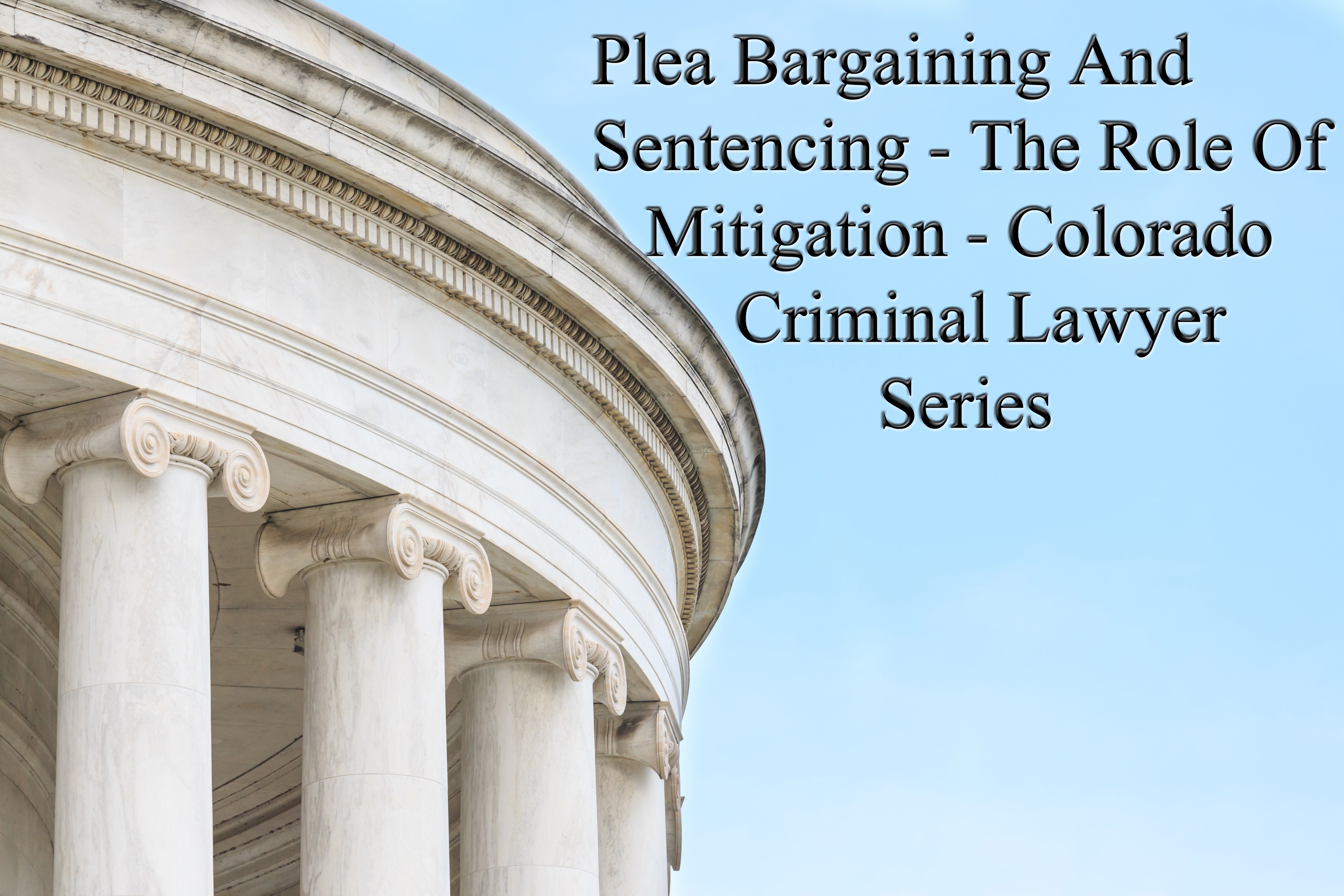 the role of plea-bargaining essay Free essay: the importance of plea bargaining in criminal trials screeech that is the sound of our court system coming to a grinding halt, if plea.